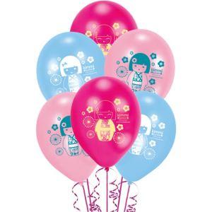6 ballons Kimmi Junior (22 cm)