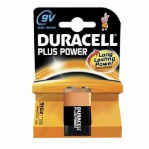 Duracell Pile 9V 6LR61 Plus Power