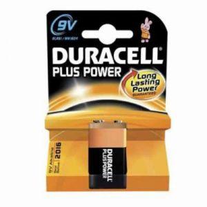 Image de Duracell Pile 9V 6LR61 Plus Power