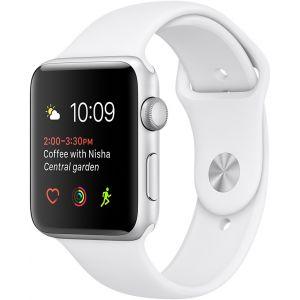 Apple Watch 38 mm séries 2 - Montre connectée Boîtier alu avec Bracelet Sport