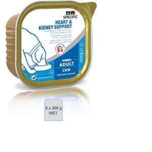 Dechra Specific Chien CKW Heart & Kidney 6 x 300 grs
