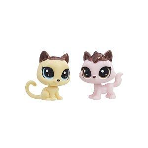 Image de Hasbro Littlest PetShop - Pack de 2 PetShop Collection Sucrée (E1073)