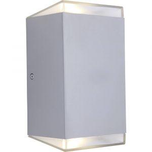 Lutec Applique murale PATH LED Acier inoxydable, 1 lumière - Moderne - Extérieur - Wandleuchte