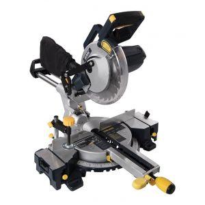 GMC Scie à onglet radiale à double barre coulissante 210 mm, 1 800 W - GM210S