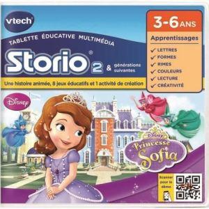 Vtech Jeu tablette Storio 2 : Princesse Sofia