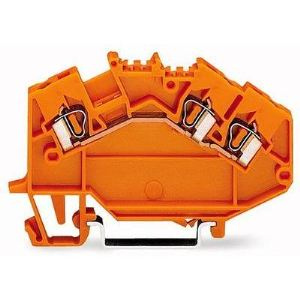 Wago 780-654 - Borne de passage pour 3 conducteurs 50 pc(s)