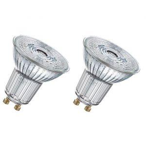 Osram Lot de 2 ampoules réflecteurs LED 4.6W = 350Lm (équiv 50W) GU10 4000K
