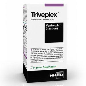Nhco nutrition Triveplex - Pilulier de 90 gélules Transit et Ventre plat