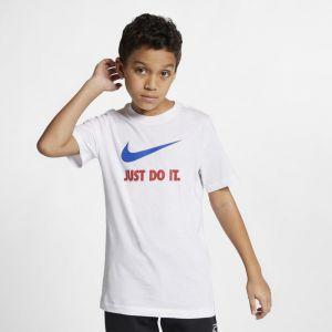 Nike Tee-shirt JDI Sportswear Garçon plus âgé - Blanc - Taille L - Male