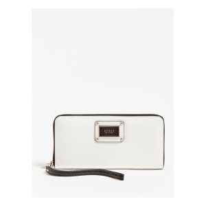 Guess Shannon - Portefeuille logo - blanc