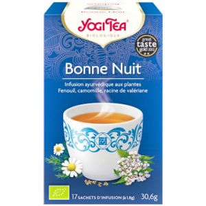 Yogi Tea Thé Good Night - Boîte de 17 sachets