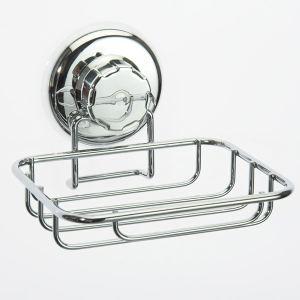 Rangement & cie RAN4684 - Porte savon/éponge à ventouse en chrome