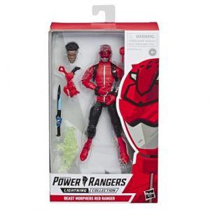 Hasbro Figurine Power Rangers Beast Morphers Premium 15 cm Rouge