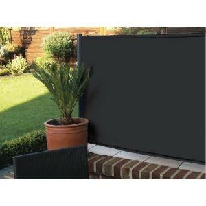 IDEAL GARDEN Brise vue Elegance 200 g/m² 1 x 25 m Noir