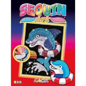 KSG Sequin art Junior : Jack Dauphin
