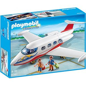 Playmobil 6081 Summer Fun - Avion avec pilote et touristes
