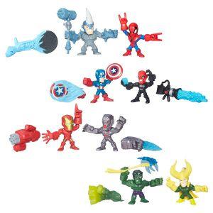 Hasbro Coffret 2 figurines Micro Hero Mashers