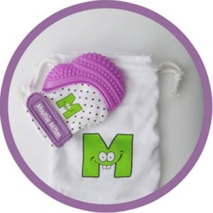 Malarkey Kids Mitaine de dentition mauve