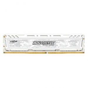 Crucial BLS8G4D240FSC - Barrette mémoire DDR4 Ballistix Sport LT 8 Go 2400 MHz CAS 16 White