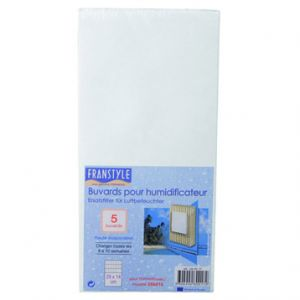 Franstyle 280017 - Lot de 5 buvards pour humidificateur
