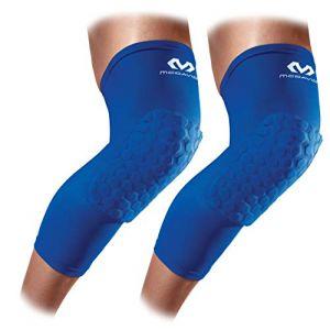 McDavid Hex Leg Sleeves/pair - Royal Blue - Taille M