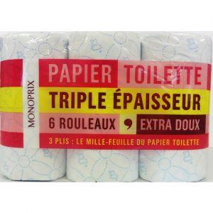 Monoprix Papier toilette triple épaisseur