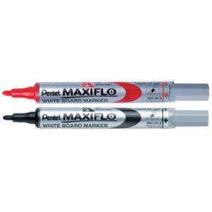 Pentel Marqueur Maxiflo effaçable à sec encre noire pointe fine