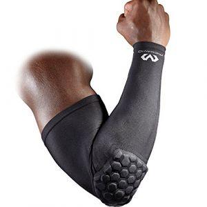 """McDavid Accessoire sport Manchon de protection Hex """"Power Shooter"""" Black Noir - Taille XS,M,S,L"""