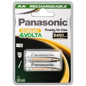 Panasonic Evolta - 2 piles AA rechargeables 2450 mAh