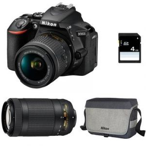 Nikon D5600 (avec 2 objectifs 18-55mm et 70-300mm)