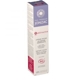 Jonzac Eau thermale crème riche jeunesse immédiate 40 ml
