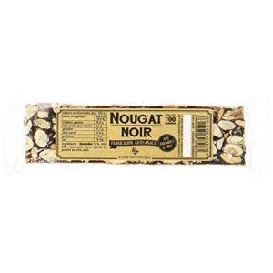 L'ami provençal Nougat noir aux amandes et miel - La barre de 100g