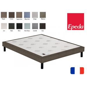 Epeda Sommier déco confort ferme 90x200