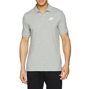 Nike Polo Sportswear pour Homme - Gris - Taille L - Homme
