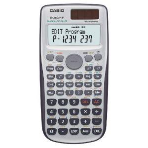 Casio Calculatrice scolaire fx-3650P II argent solaire, à pile(s)