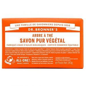 Dr bronner's Pain de savon arbre à thé 140 g