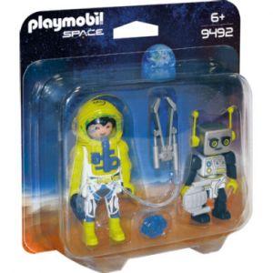 Playmobil Duo Spationaute et robot - 9492