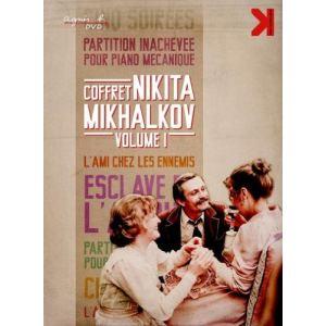 Coffret Nikita Mikhalkov - Volume 1 : Le nôtre parmi les autres + L'esclave de l'amour + Partition inachevée pour piano mécanique + Cinq soirées