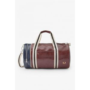 Fred Perry Sac de sport CLASSIC BARREL BAG - Couleur Unique - Taille Bordeaux