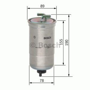 Bosch Filtre à carburant 0450906442