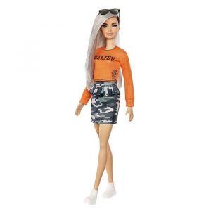 Mattel Fashionistas 107 - Jupe Camouflage - Poupée Mannequin