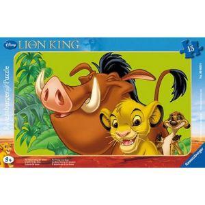 Ravensburger Puzzle cadre Le roi lion : Simba le lionceau 15 pièces