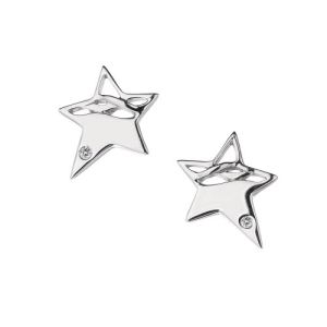 Hot Diamonds De228 - Boucles d'oreilles en argent et diamants