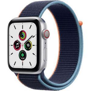 Apple Accessoire Watch SE 44MM Alu Argent/Boucle Bleu Cellular