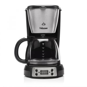 Tristar CM1248 Cafetière filtre - Inox - Capacité : 1,5L - Nombre de tasses : 12-15 - 900W