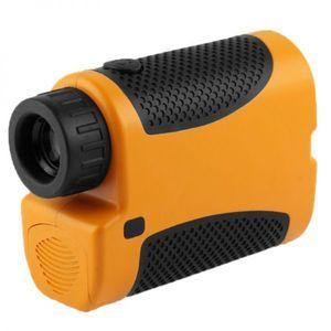 Yonis Télémètre laser portable travaux chantier multifonction 5-1200m jaune