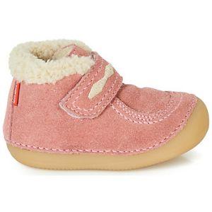 Kickers Boots enfant SOETNIC rose - Taille 24,25,26,27