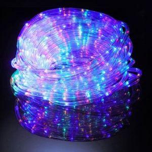 Cordon lumineux solaire multicolore (24m)