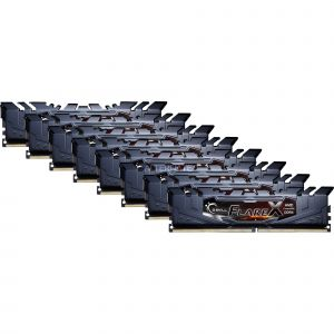 G.Skill Mémoire PC Flare X - Kit de 64Go (8x8Go) DDR4 2933 Mhz 16-16-16-36 - 1.35V