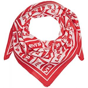 Levi's Repeat Batwing Bandana Foulard Homme, Rouge (Brillant Red 88), Taille Unique